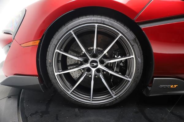 New 2019 McLaren 600LT for sale $285,236 at Maserati of Westport in Westport CT 06880 16