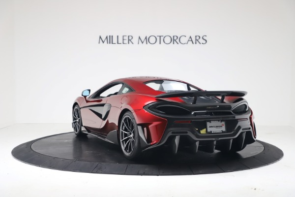 New 2019 McLaren 600LT Coupe for sale $285,236 at Maserati of Westport in Westport CT 06880 4