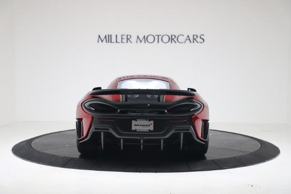 New 2019 McLaren 600LT for sale $285,236 at Maserati of Westport in Westport CT 06880 5