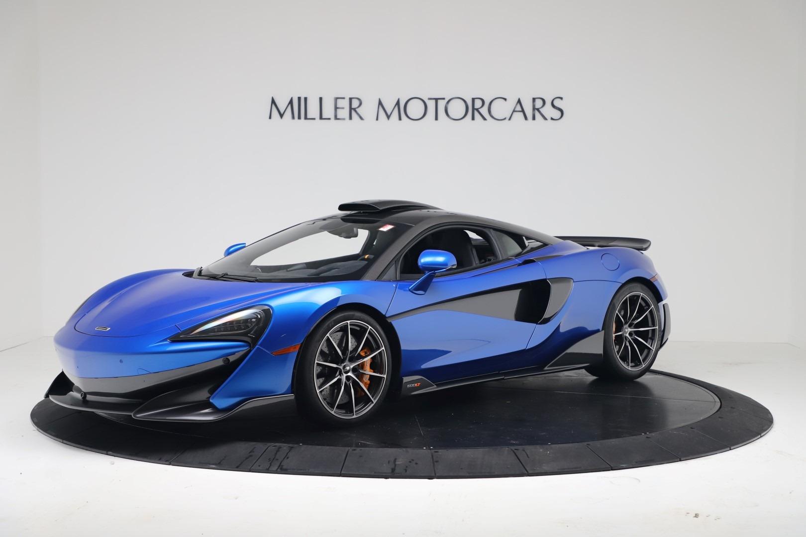 New 2019 McLaren 600LT Coupe for sale Sold at Maserati of Westport in Westport CT 06880 1