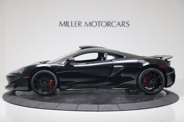 New 2019 McLaren 600LT Coupe for sale $305,639 at Maserati of Westport in Westport CT 06880 2