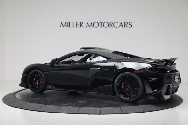 New 2019 McLaren 600LT Coupe for sale $305,639 at Maserati of Westport in Westport CT 06880 3