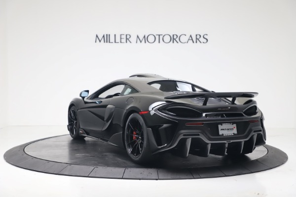 New 2019 McLaren 600LT for sale $305,639 at Maserati of Westport in Westport CT 06880 4