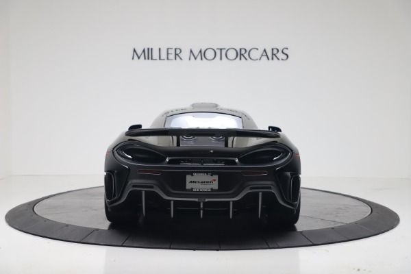 New 2019 McLaren 600LT Coupe for sale $305,639 at Maserati of Westport in Westport CT 06880 5