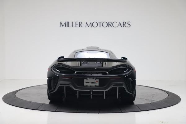 New 2019 McLaren 600LT for sale $305,639 at Maserati of Westport in Westport CT 06880 5