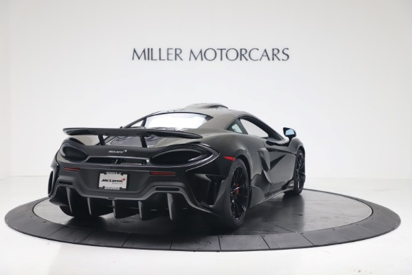 New 2019 McLaren 600LT Coupe for sale $305,639 at Maserati of Westport in Westport CT 06880 6