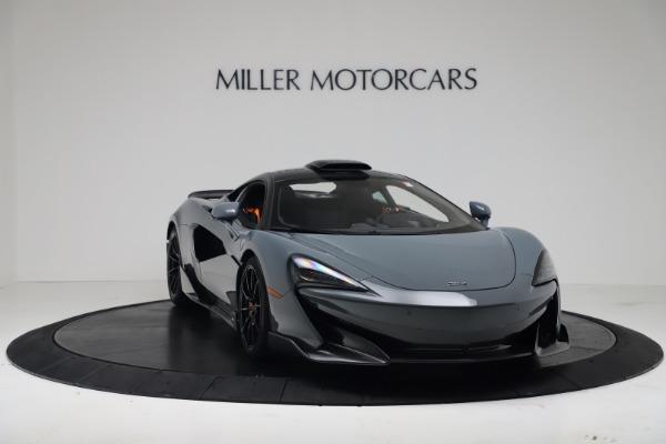 New 2019 McLaren 600LT for sale $311,619 at Maserati of Westport in Westport CT 06880 10