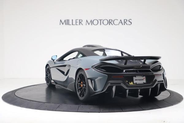 New 2019 McLaren 600LT for sale $311,619 at Maserati of Westport in Westport CT 06880 4