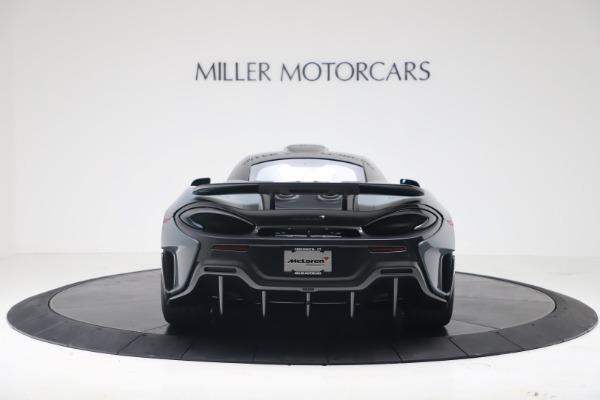 New 2019 McLaren 600LT for sale $311,619 at Maserati of Westport in Westport CT 06880 5