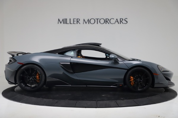 New 2019 McLaren 600LT Coupe for sale $311,619 at Maserati of Westport in Westport CT 06880 8