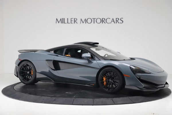 New 2019 McLaren 600LT Coupe for sale $311,619 at Maserati of Westport in Westport CT 06880 9