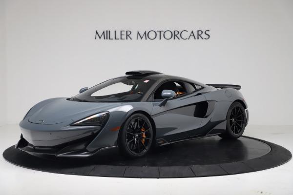 New 2019 McLaren 600LT for sale $311,619 at Maserati of Westport in Westport CT 06880 1