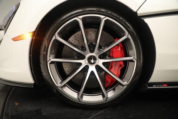 New 2020 McLaren 570S Coupe for sale $215,600 at Maserati of Westport in Westport CT 06880 15