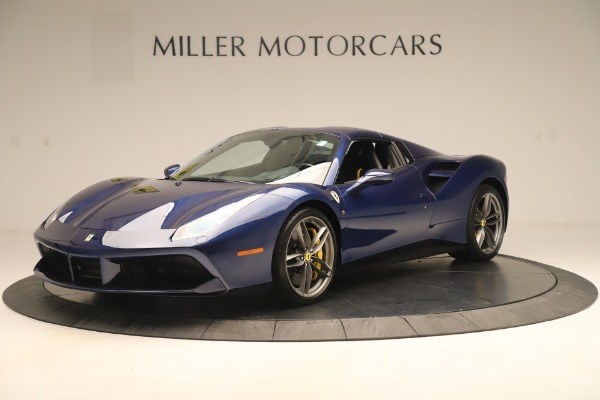 Used 2018 Ferrari 488 Spider for sale Sold at Maserati of Westport in Westport CT 06880 13