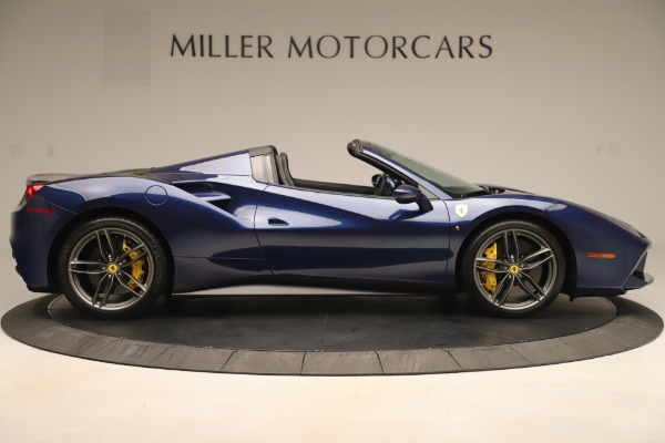 Used 2018 Ferrari 488 Spider for sale Sold at Maserati of Westport in Westport CT 06880 9