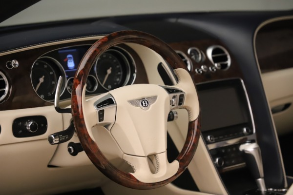 Used 2016 Bentley Continental GTC W12 for sale Sold at Maserati of Westport in Westport CT 06880 27