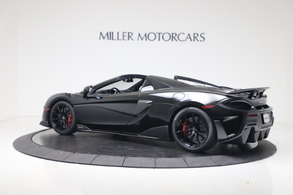 Used 2020 McLaren 600LT Spider for sale $249,900 at Maserati of Westport in Westport CT 06880 13