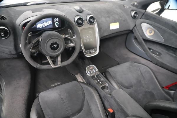 Used 2020 McLaren 600LT Spider for sale $249,900 at Maserati of Westport in Westport CT 06880 18