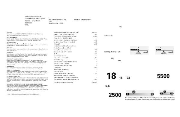 Used 2020 McLaren 600LT Spider for sale $249,900 at Maserati of Westport in Westport CT 06880 24