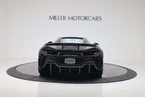 New 2020 McLaren 600LT SPIDER Convertible for sale Sold at Maserati of Westport in Westport CT 06880 9