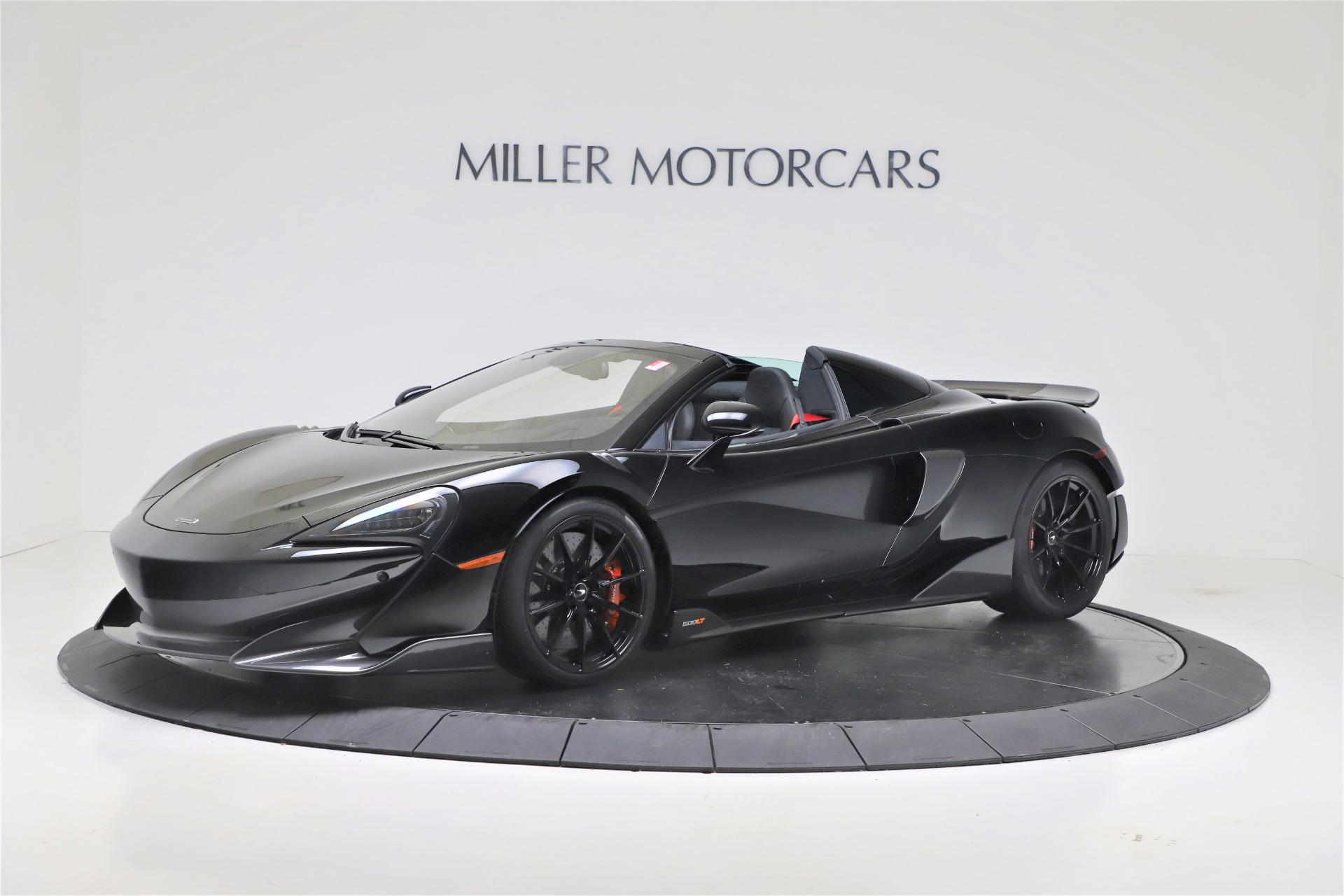 Used 2020 McLaren 600LT Spider for sale $249,900 at Maserati of Westport in Westport CT 06880 1