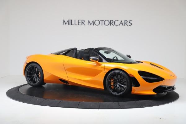 New 2020 McLaren 720S Spider Convertible for sale $374,440 at Maserati of Westport in Westport CT 06880 10
