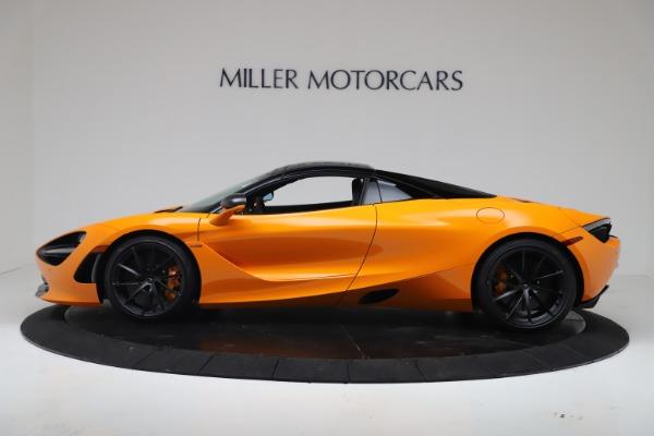 New 2020 McLaren 720S Spider Convertible for sale $374,440 at Maserati of Westport in Westport CT 06880 15