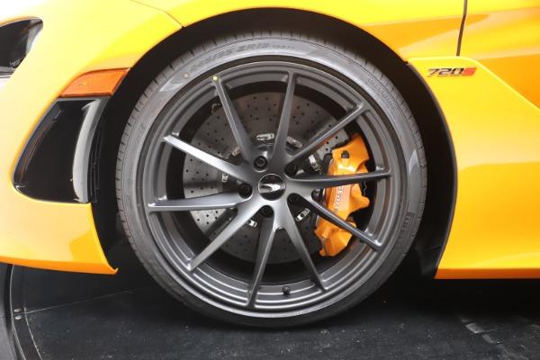 New 2020 McLaren 720S Spider Convertible for sale $374,440 at Maserati of Westport in Westport CT 06880 19
