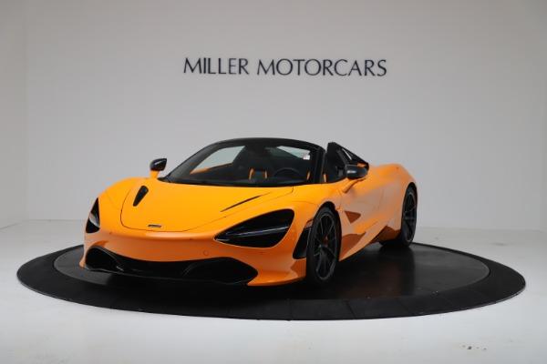 New 2020 McLaren 720S Spider Convertible for sale $374,440 at Maserati of Westport in Westport CT 06880 2