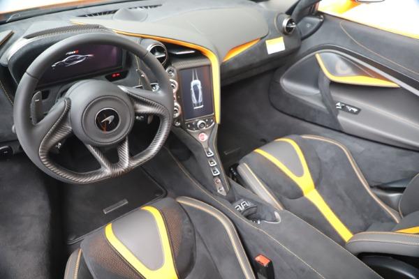 New 2020 McLaren 720S Spider Convertible for sale $374,440 at Maserati of Westport in Westport CT 06880 23