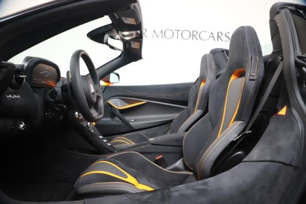 New 2020 McLaren 720S Spider Performance for sale $374,440 at Maserati of Westport in Westport CT 06880 25