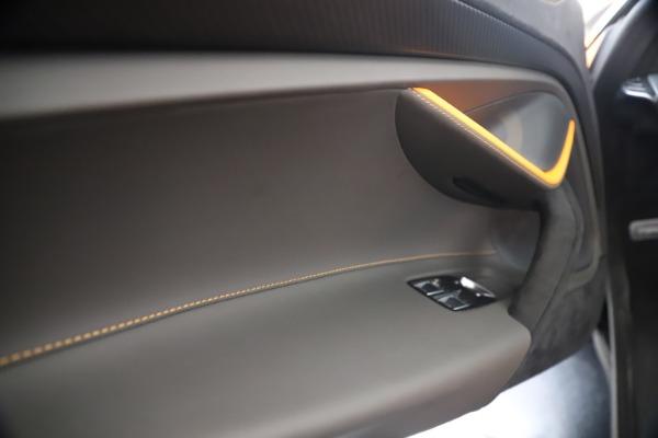 New 2020 McLaren 720S Spider Convertible for sale $374,440 at Maserati of Westport in Westport CT 06880 27