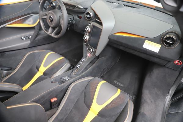 New 2020 McLaren 720S Spider Convertible for sale $374,440 at Maserati of Westport in Westport CT 06880 28