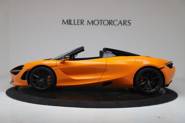 New 2020 McLaren 720S Spider Convertible for sale $374,440 at Maserati of Westport in Westport CT 06880 3