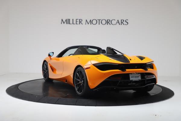 New 2020 McLaren 720S Spider Convertible for sale $374,440 at Maserati of Westport in Westport CT 06880 5