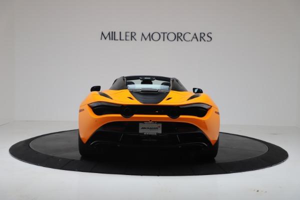 New 2020 McLaren 720S Spider Convertible for sale $374,440 at Maserati of Westport in Westport CT 06880 6