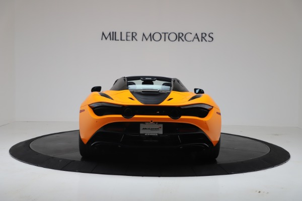 New 2020 McLaren 720S Spider Performance for sale $374,440 at Maserati of Westport in Westport CT 06880 6