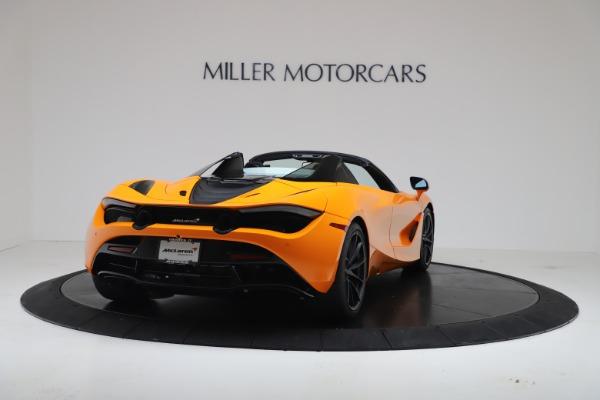 New 2020 McLaren 720S Spider Convertible for sale $374,440 at Maserati of Westport in Westport CT 06880 7