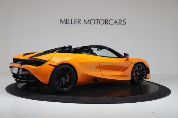 New 2020 McLaren 720S Spider Convertible for sale $374,440 at Maserati of Westport in Westport CT 06880 8