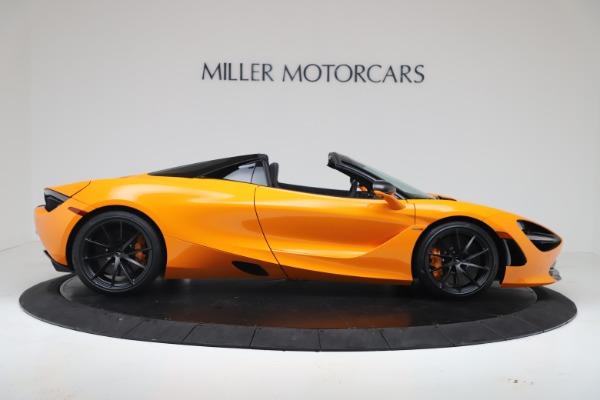 New 2020 McLaren 720S Spider Convertible for sale $374,440 at Maserati of Westport in Westport CT 06880 9