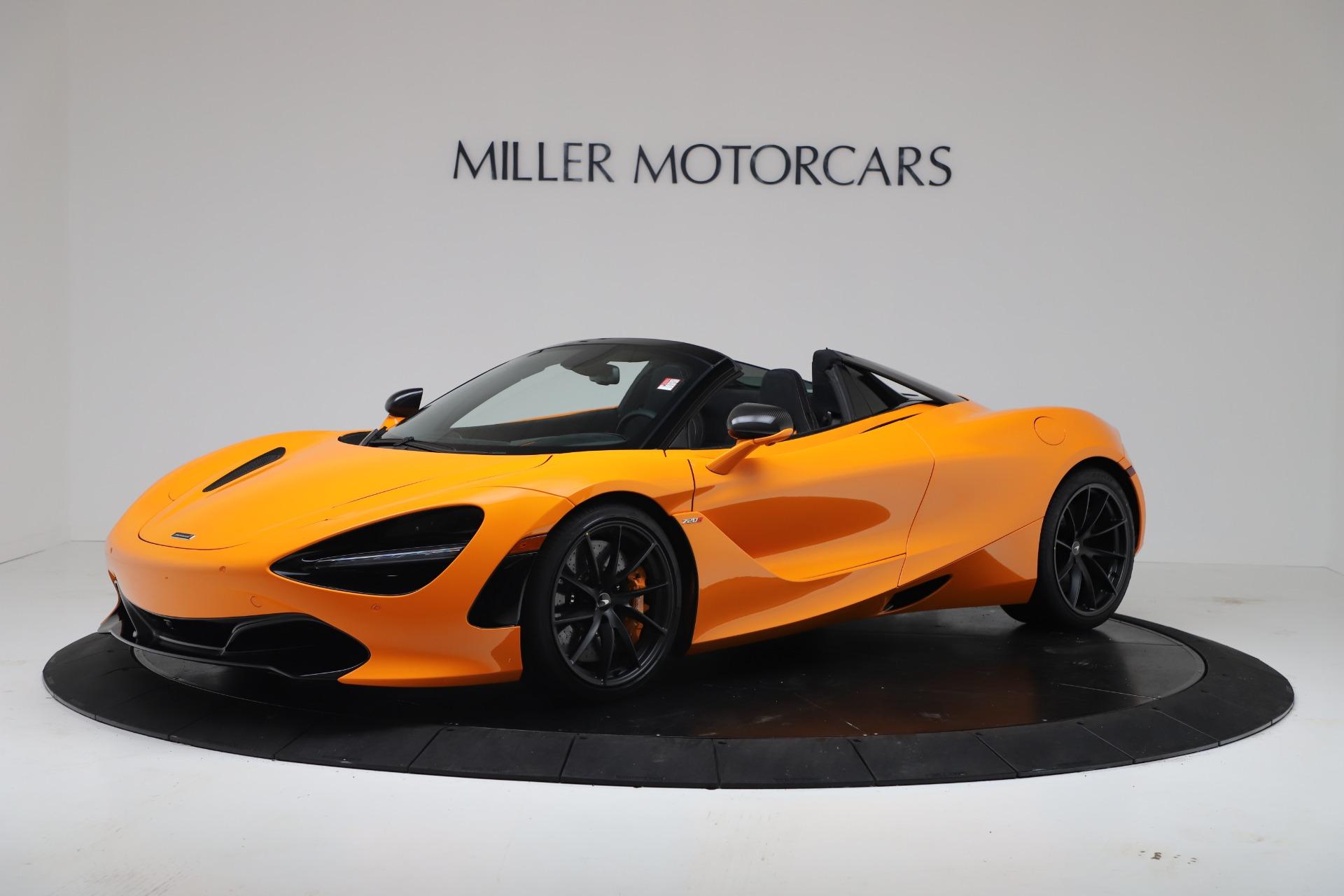 New 2020 McLaren 720S Spider Convertible for sale $374,440 at Maserati of Westport in Westport CT 06880 1