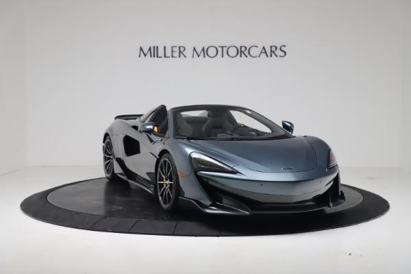 New 2020 McLaren 600LT SPIDER Convertible for sale Sold at Maserati of Westport in Westport CT 06880 10