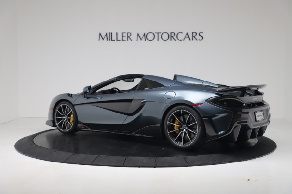 New 2020 McLaren 600LT SPIDER Convertible for sale Sold at Maserati of Westport in Westport CT 06880 14