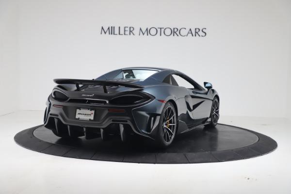 New 2020 McLaren 600LT SPIDER Convertible for sale Sold at Maserati of Westport in Westport CT 06880 16