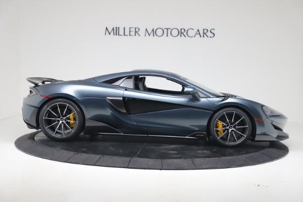 New 2020 McLaren 600LT SPIDER Convertible for sale Sold at Maserati of Westport in Westport CT 06880 17