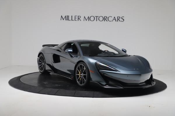 New 2020 McLaren 600LT SPIDER Convertible for sale Sold at Maserati of Westport in Westport CT 06880 18