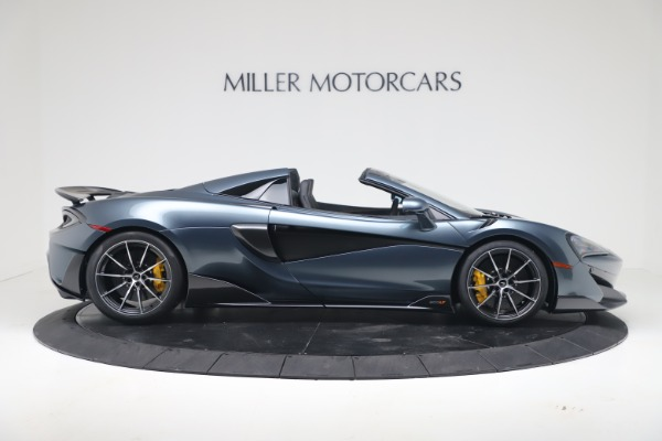 New 2020 McLaren 600LT SPIDER Convertible for sale Sold at Maserati of Westport in Westport CT 06880 8
