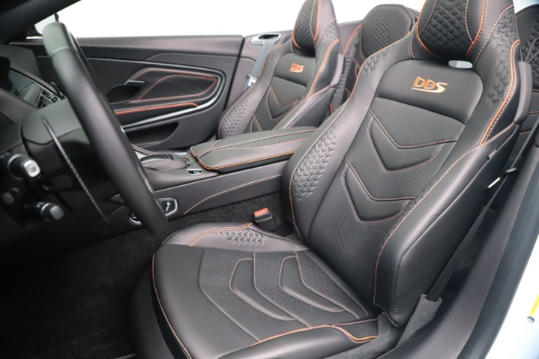New 2020 Aston Martin DBS Superleggera Volante Convertible for sale Sold at Maserati of Westport in Westport CT 06880 22
