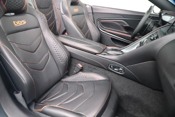 New 2020 Aston Martin DBS Superleggera Volante Convertible for sale Sold at Maserati of Westport in Westport CT 06880 23