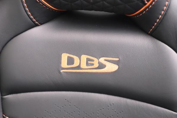 New 2020 Aston Martin DBS Superleggera Volante Convertible for sale Sold at Maserati of Westport in Westport CT 06880 27